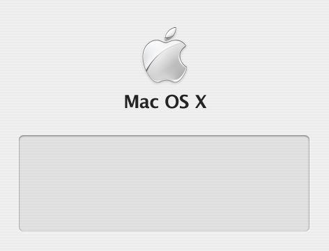 Mac OSX の起動時の画面「図1」を変更する。