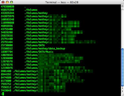 Mac OS Xで一番容量の多いディレクトリを探す