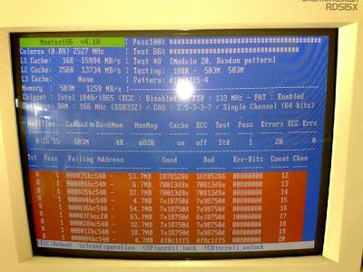 iMac late 2006のメモリを増設しました。