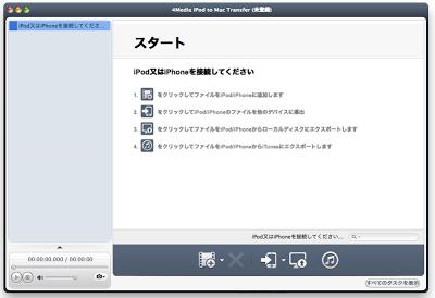 iPodやiPhoneから音楽や写真、動画などをMacへコピーしたい