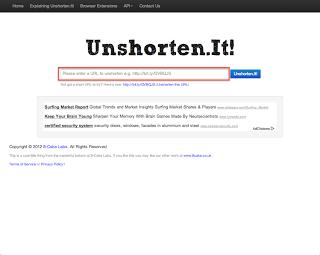 短縮URLのリンク先を調べたい