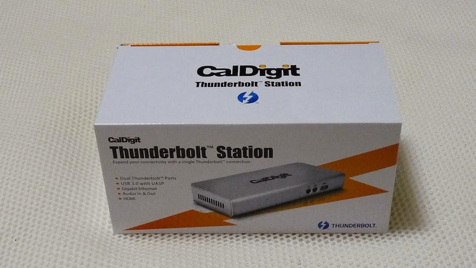 CalDigit Thunderbolt Stationを購入しました