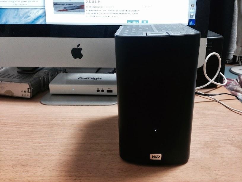 Western Digital My Book VelociRaptor Duo 2TBを購入してOS Xの起動ディスクにしました