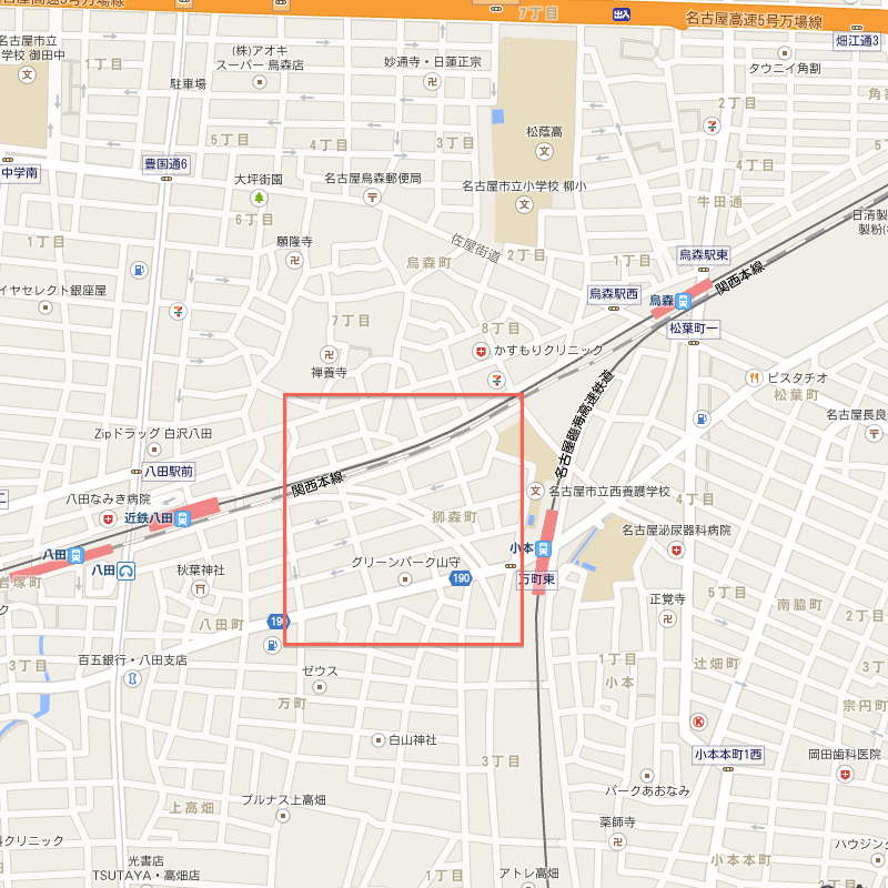 南方貨物線から名古屋貨物ターミナル駅を経由してJR関西本線へ続くはずだった貨物線