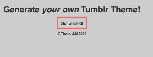 Tumblrのテーマを簡単に自作したい