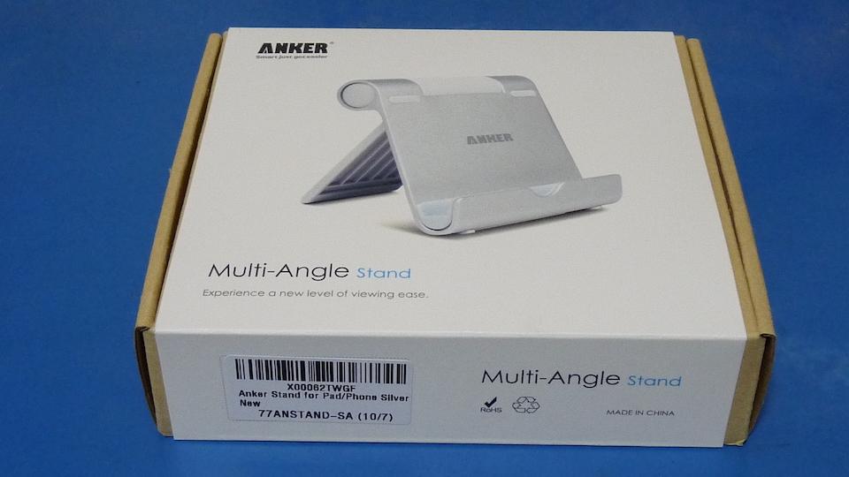 Anker タブレット用スタンド 角度調整可能 iPad・iPad mini・Nexus 7等を購入しました