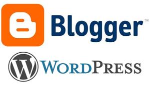 blogger-wordpress-logo