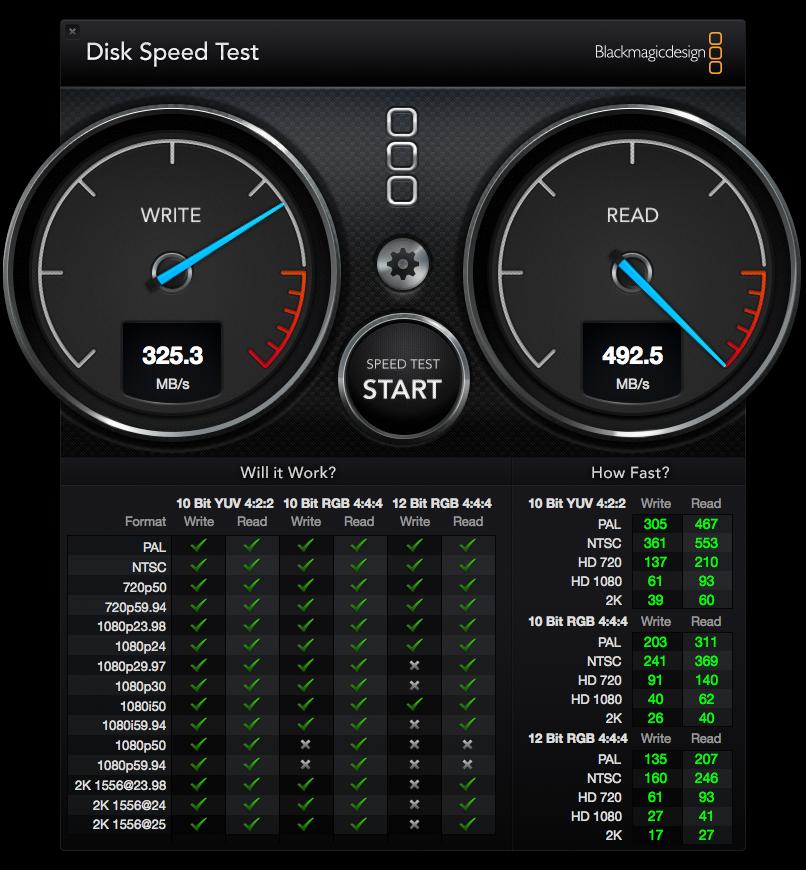 DiskSpeedTest